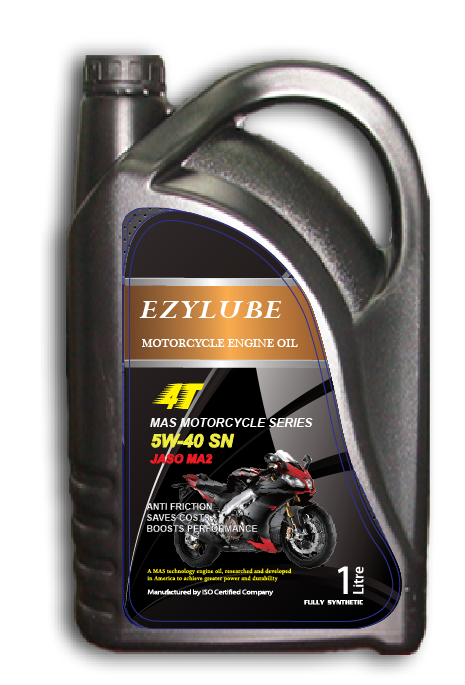 Engine Oil Motorcycle 4T 5W-40 SN JASO MA2, 2T TC JASO FC etc