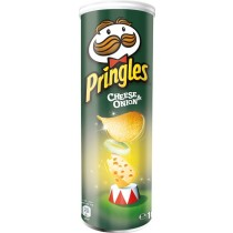 PRINGLES Cheese & Onion Chips 165g