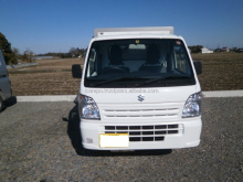 JAPANESE USED SUZUKI CARRY TRUCK EBD-DA16T 2014 EXPORT FROM JAPAN