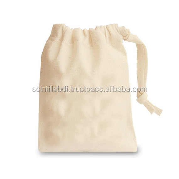 TCP014 cotton drawstring bags wholesale