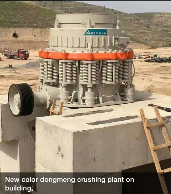 China Best High quality DMG Single cylinder hydraulic cone crusher
