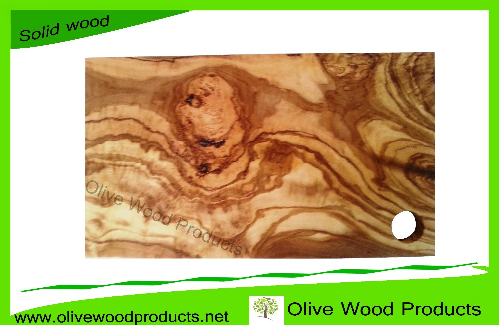 Tunisian Olive Wood Cutting Board, Olive Wood Chopping Board