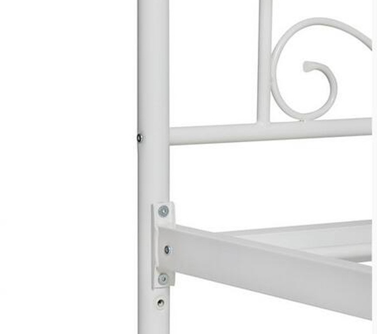 Metal king size bed frame powder coating
