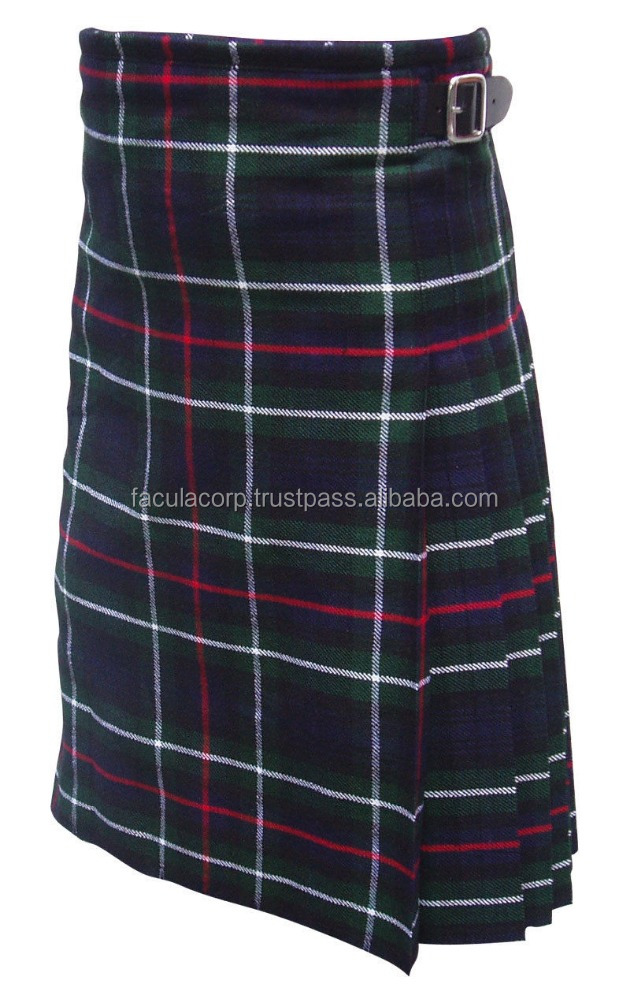 New Men's Scottish Mackenzie Kilt 5 Yard Acrylic Highland Wear FC-5929