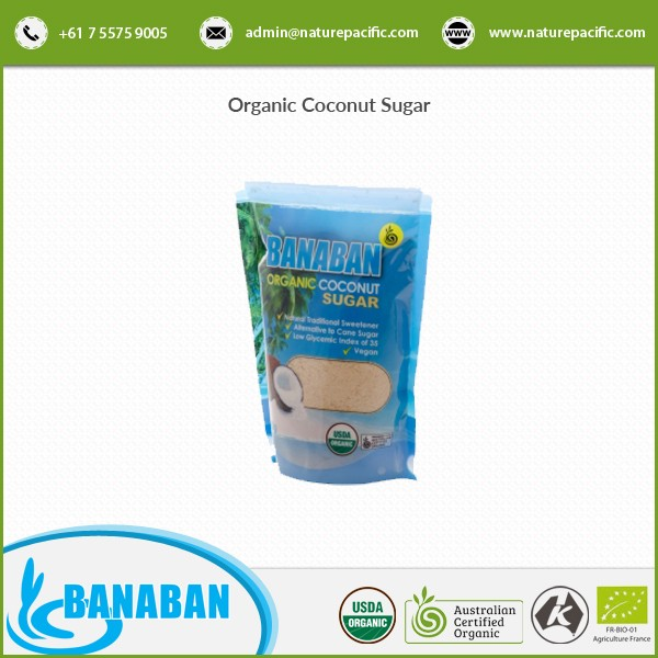Exclusive Range of Reliable and Effective Organic Coconut Sugar for Food Industry