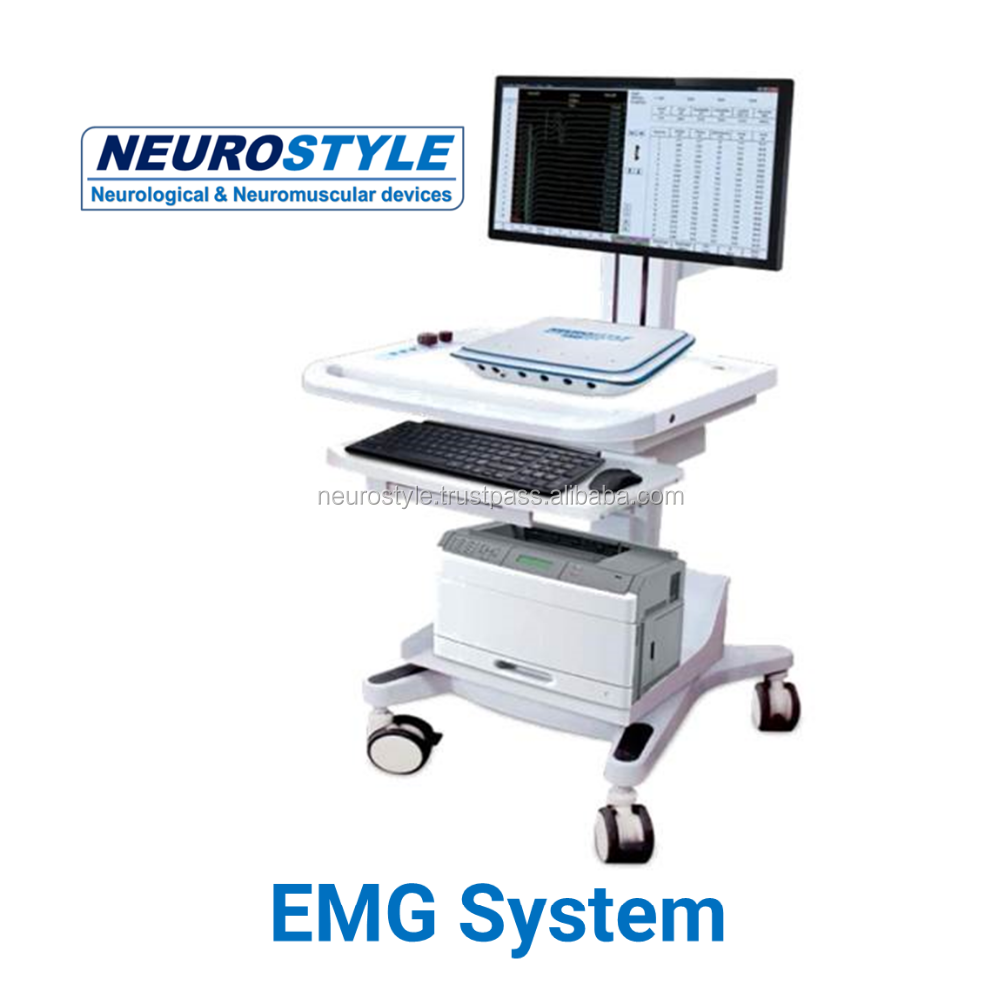 4 channel new trolley EMG Device with EP function
