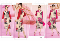 Digital Good looks Poly Designer Georgette Tops/china top ten selling products/roof top tent/lady top