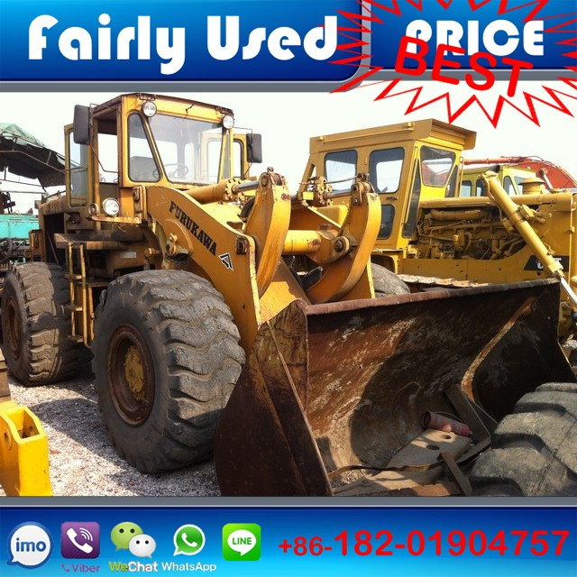 JAPANESE ORIGINAL USED FURUKAWA WHEEL LOADER FL320A FOR SALE