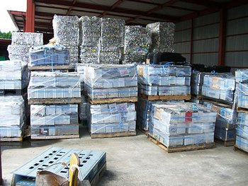 Hot selling used car battery scrap