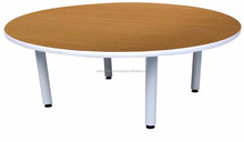 4' Japanese Round Table : Hight Quality kids study table and chair, student table for classroom