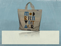 Recycled Organic Canvas Convention Tote Bag