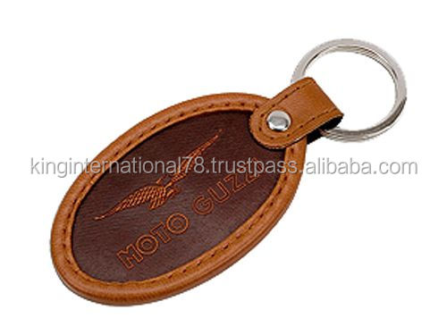 leather key metal chains