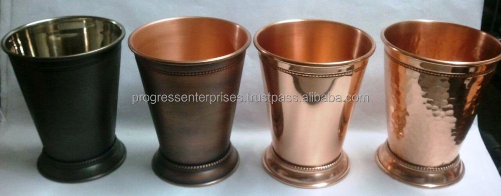 Copper Julep Cups for Distilleries and Spirits company in Louisville Kentucky Brand Promotion