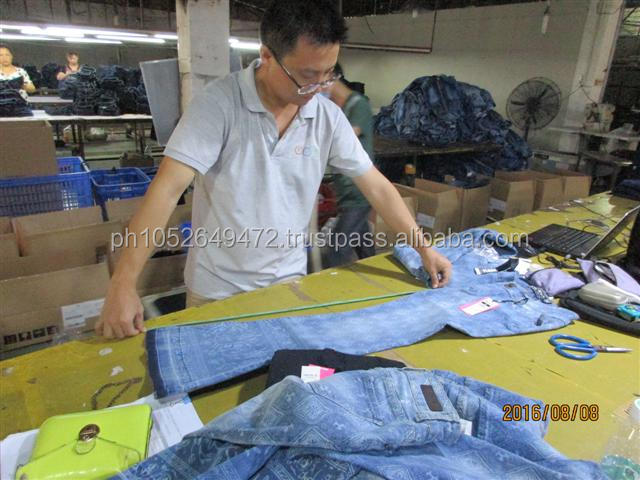 Pre-Shipment Inspection for Jeans & Denim in China