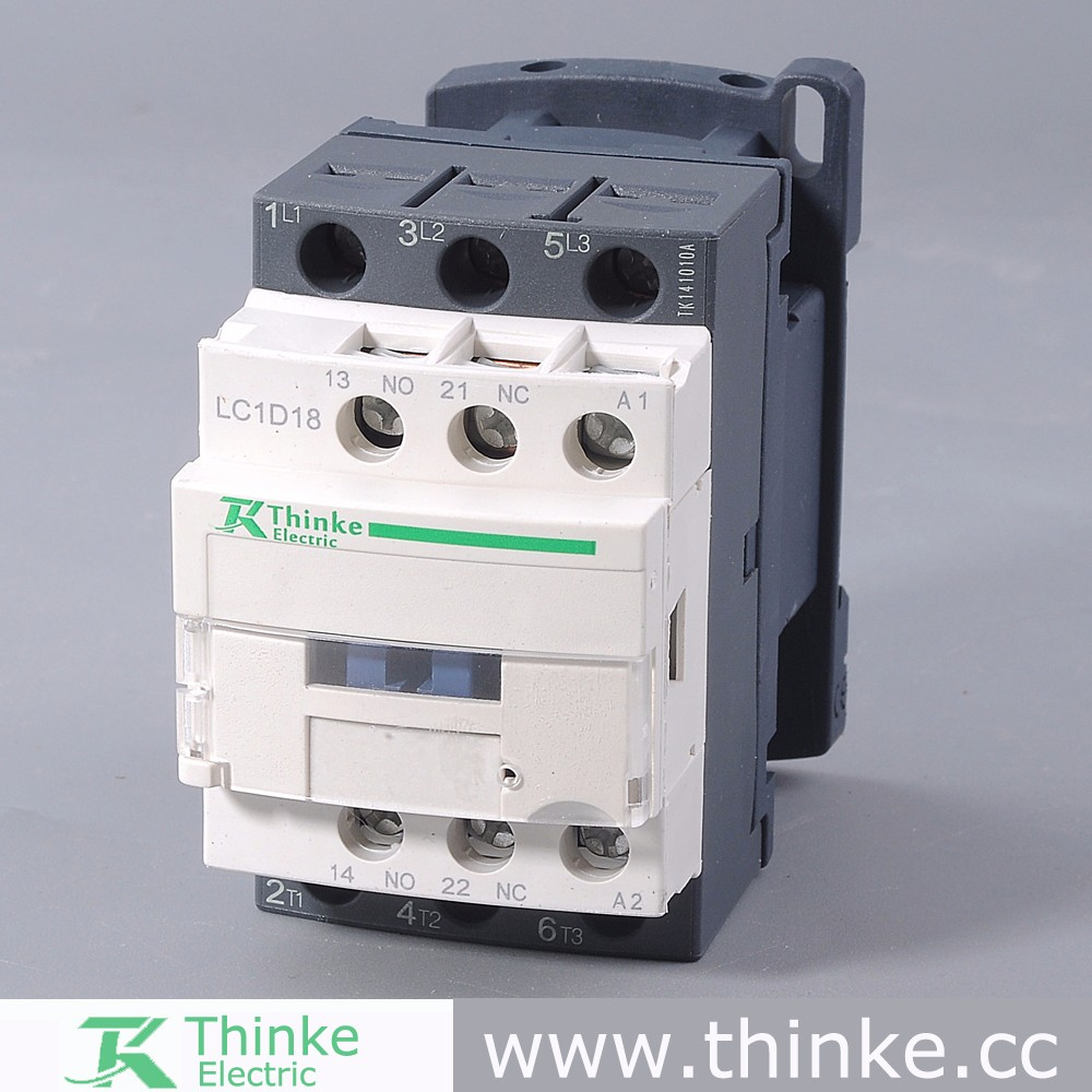 lc1 d18 ac magnetic contactor 3 pole ac contactor 380v view ac magnetic contactor thinke
