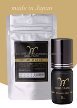 Reliable strong eyelash extension adhesive with long endurance