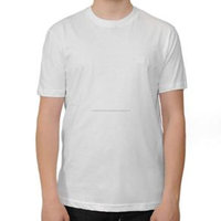 Design wholesale plain white 100% cotton t shirts for men