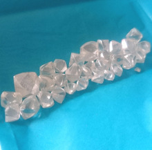 High Quality white color rough loose moissanite crystal for sale