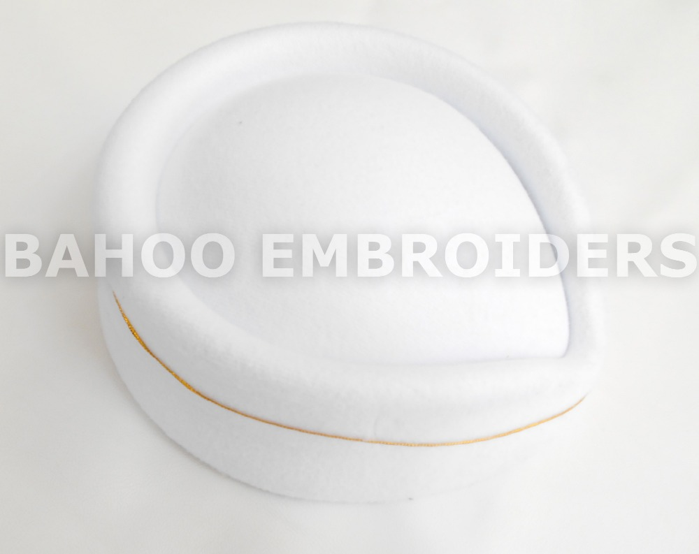 Air Hostess White Cap