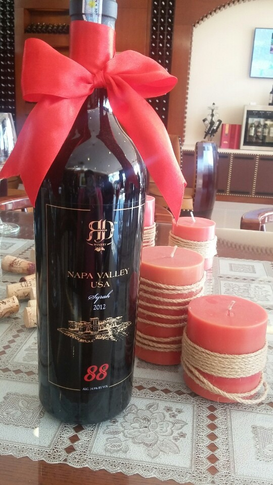 Syrah 88- Napa Valley Red Wine 2012- RD Winery