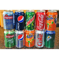 Coca-cola soft drinks in Cans