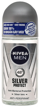 NIVEA MEN SILVER PROTECT DEODORANT ROLL ON 50ML