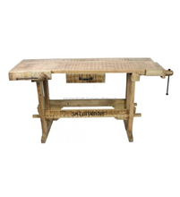 WOODEN DESIGNER TABLE WITHSINGLE DRAWER