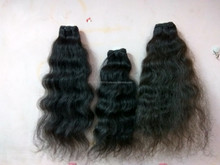 Natural Best quality Indian temple hair extension from Dev hair exports chennai india