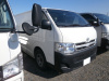 GOOD CONDITION JAPANESE USED TOYOTA HIACE DIESEL VAN QDF-KDH201V 2013 WITH REFRIGERATOR & FREEZER