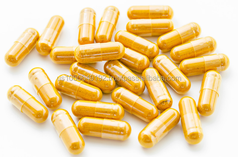 GMPc (Advanced Absorption) Herbal Dietary Supplement Turmeric Capsules
