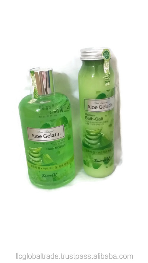 high quality Aloe Vera Gel Bath Set