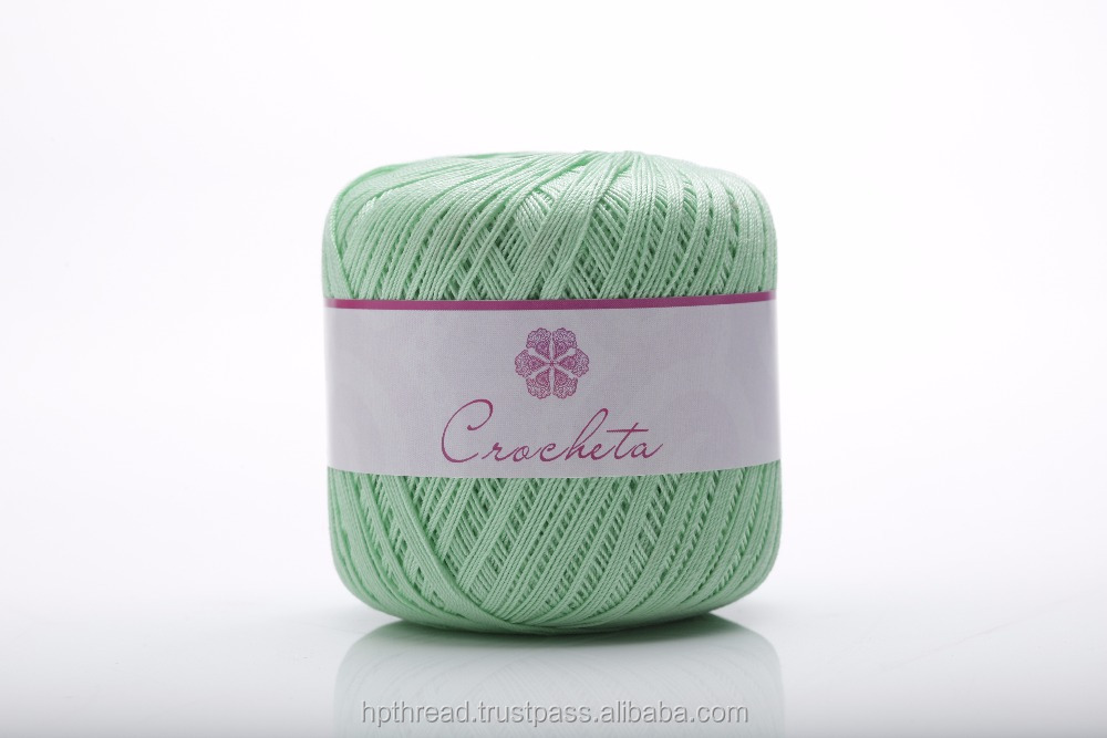 100% Cotton Mercerized Crochet Knitting Threads
