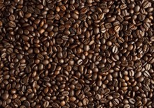 Arabica green grain coffee