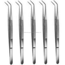 5X College Cotton Dressing Pliers 6 Dental Surgical Instruments with lock