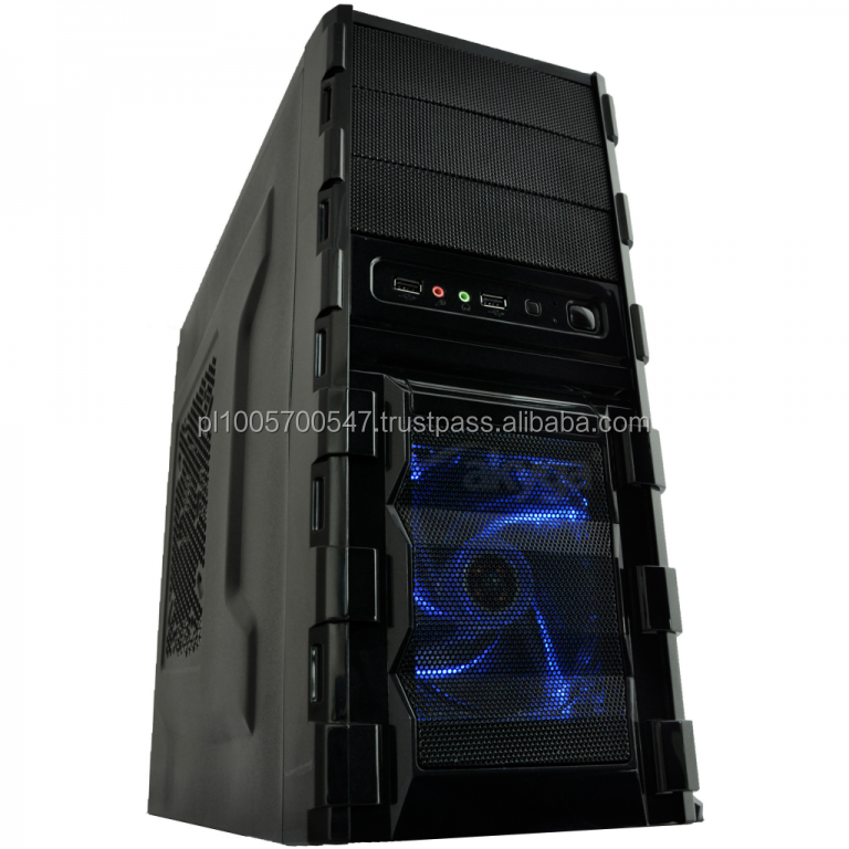 Computer Case, Midi Tower case, ATX case Computer Case gaming AKY001BL