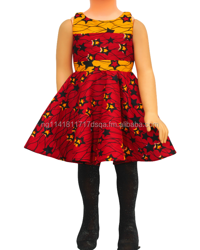 Classy African Traditional Native Dress for Girls - Short Dress - Girl Fashion 2