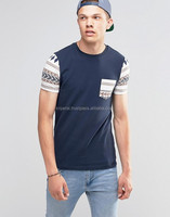 Custom Made Stylish Men Pocket T Shirt