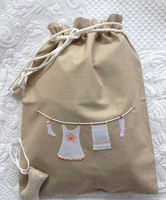 hand embroidery lingerie bag