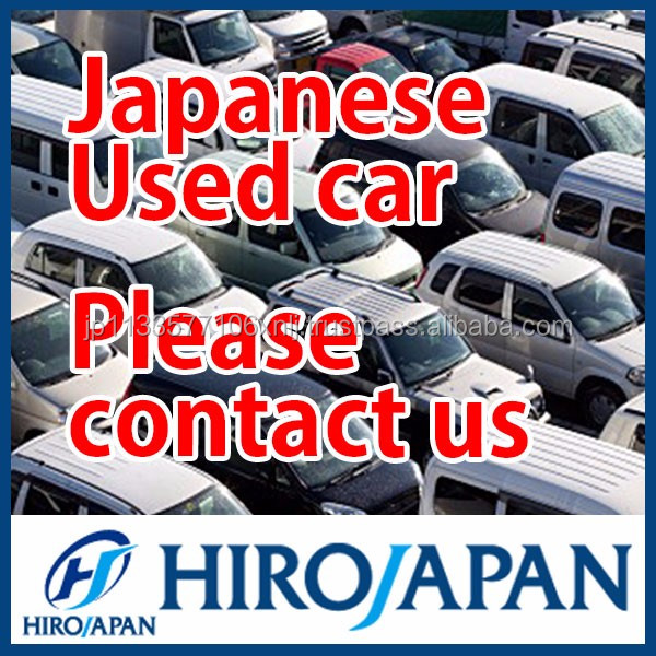Secondhand cars from Japanese used car market , motorcycle also available