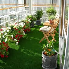 Artificial Grass for Roof top Garden use