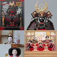 Handmade and Classic japanese samurai armour Hina Ningyo/Gogatsu Ningyo Doll at reasonable prices , small lot order available