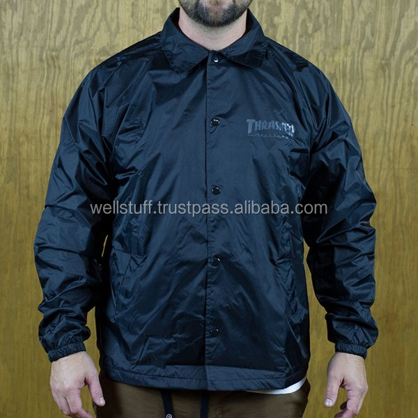 Customize coach jackets/ Waterproof windbreaker coach jackets/ coaches jackets with hood