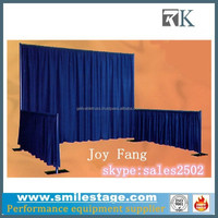 Portable photo booth, drape folding booth