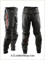 Honda Certified Ce Approve Motorcycle/Motorbike Biker Made In Real Cow Grain Leather Trouser