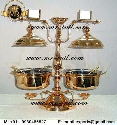twin chafer chafing chaffing dish buffet food warmer wo hanger buy brass chafing dishbuffet chafing