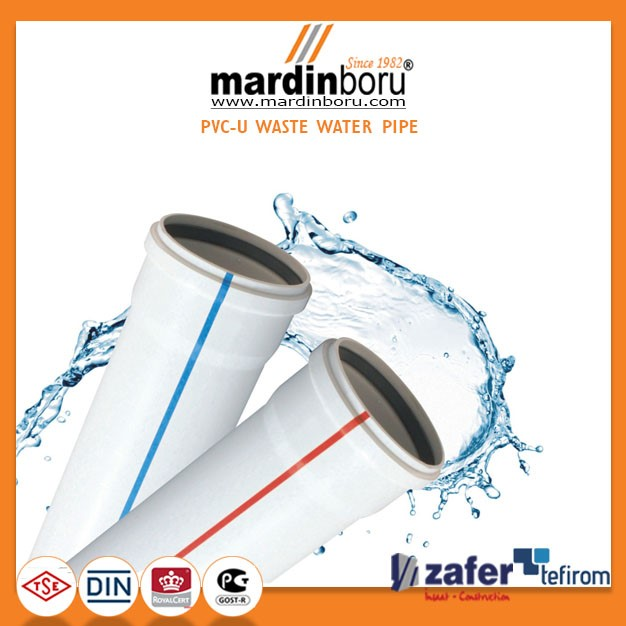 PVC Waste Water Pipe and Fittings