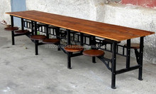 industrial dining table swing cafe furniture
