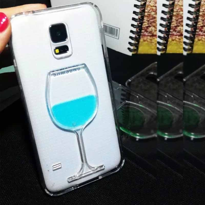 IMPRUE Luxury Dynamic Bottle style TPU Cover hard phone case for samsung S5
