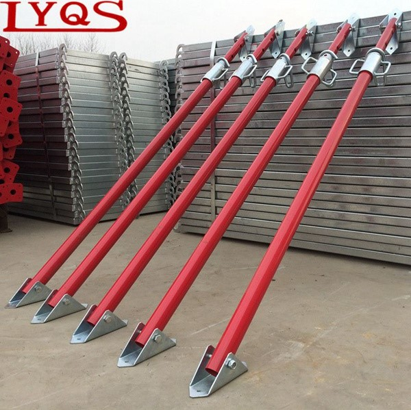Shoring Posts Adjustable : Formwork scaffolding heavy duty post shoring jack view
