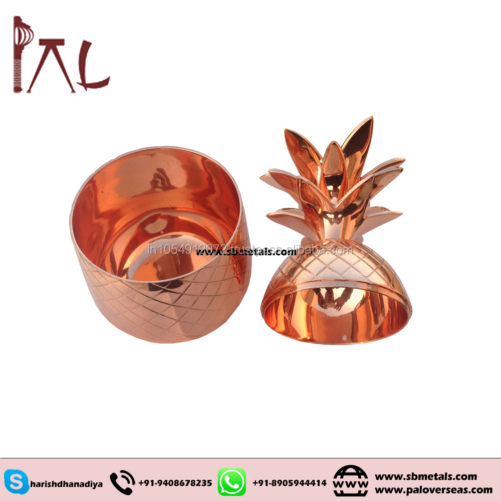 Copper Pineapple Mug food safe and exotic